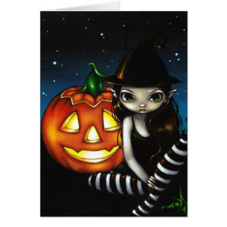 """Halloween Night"" Greeting Card"