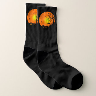 Halloween night socks