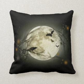 Halloween Night Throw Pillow