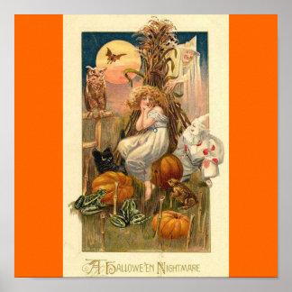 halloween nightmare poster