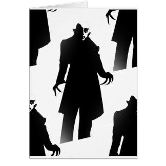 halloween nosferatu card