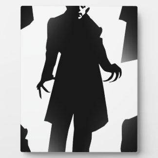 halloween nosferatu plaque