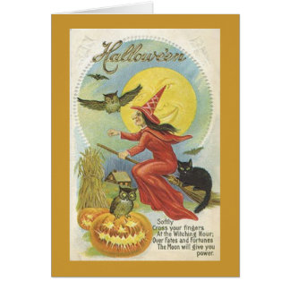 Halloween Note Card