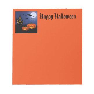 Halloween Notepad