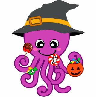 Halloween Octopus Standing Photo Sculpture