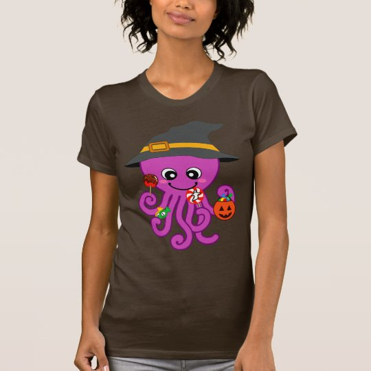 Halloween Octopus T-Shirt