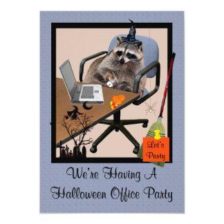 Halloween Office Party Invitation