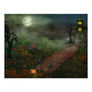 Halloween - One Hallows Eve Personalized Flyer