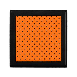 Halloween Orange Dot Gift Box