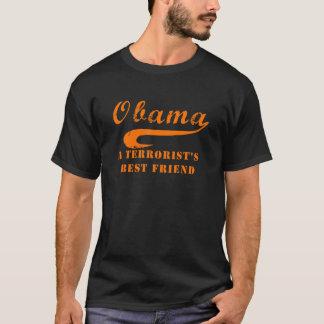 Halloween Orange Obama Terrorist Friend T-Shirt