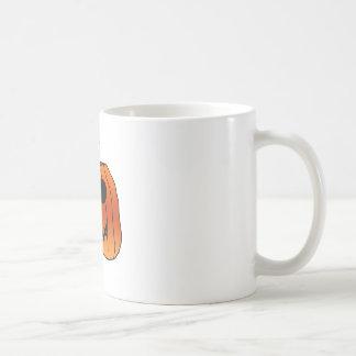 Halloween Orange Pumpkin Face Coffee Mug