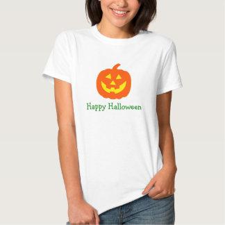 Halloween Orange Pumpkin personalized Tee Shirt
