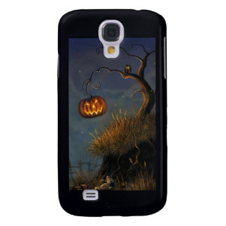 Halloween Owl and Pumpkin Samsung Galaxy S4 case