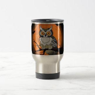 Halloween Owl Travel Mug