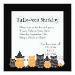 Halloween Owls Custom Invites