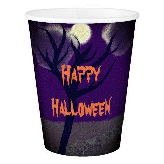 Halloween paper cups