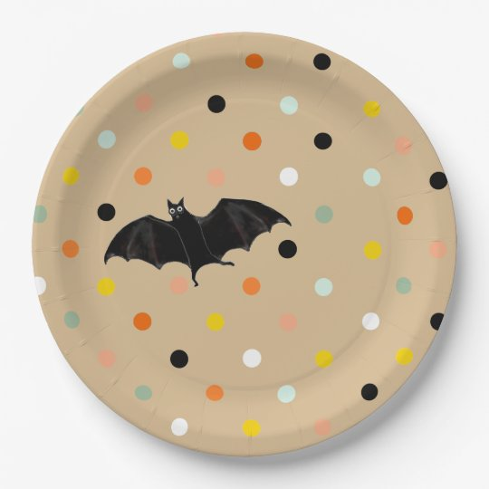 Halloween Party 9 Inch Paper Plate