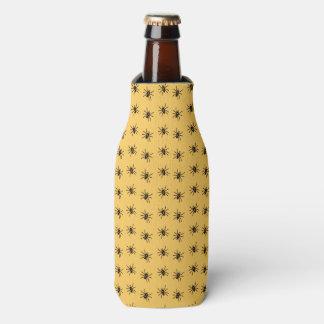 Halloween Party Bottle Cooler Spider Pattern