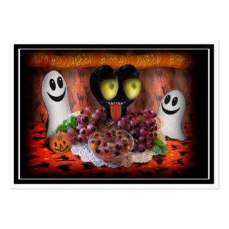 Halloween Party Centerpiece. Business Card