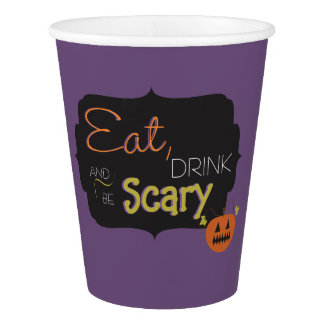 Halloween Party Cups Paper Cup