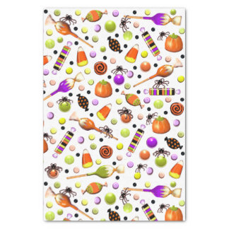 Halloween party decor tissue paper