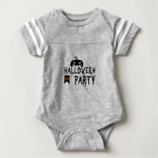 Halloween party design baby bodysuit