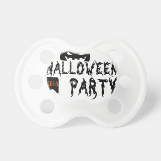 Halloween party design baby pacifiers