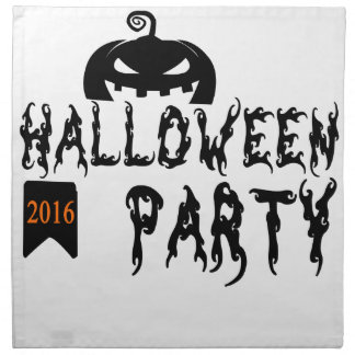 Halloween party design napkin
