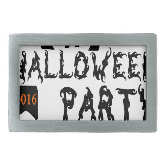 Halloween party design rectangular belt buckle