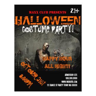 Halloween Party Event Announcement DJ CLUB Flyer