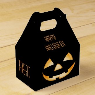 Halloween Party Favour Box - Trick or Treat?