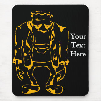 Halloween Party Gift Ideas featuring Frankenstein Mouse Pad