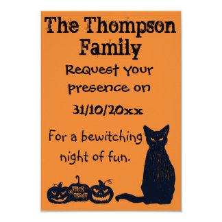 Halloween Party Invitation. Card