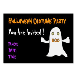Halloween party - Invitation Pack Of Chubby Business Cards
