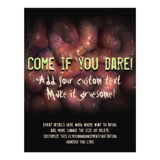 Halloween party. Invite. Haunted House Advertising Flyer Design