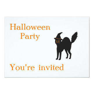 Halloween Party Invites