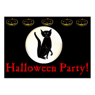 Halloween Party! Large Business Card