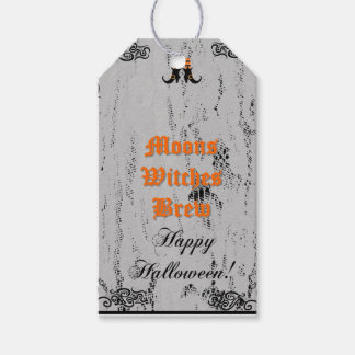 Halloween Party Moons Witches Brew Custom Tag Pack Of Gift Tags