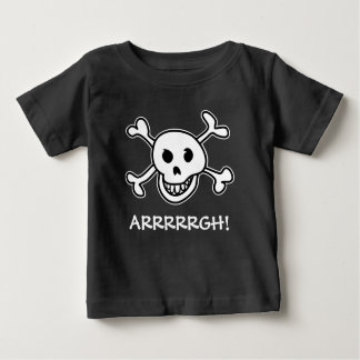Halloween party pirate skull costume for kids baby T-Shirt