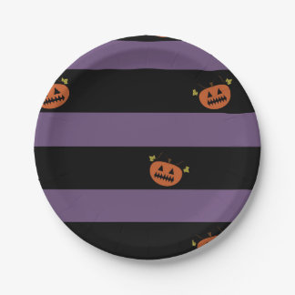 Halloween Party Plates 7 Inch Paper Plate