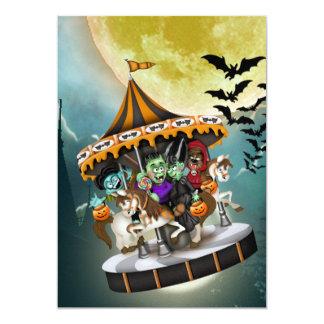 "Halloween Party  - SRF 5"" X 7"" Invitation Card"