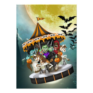Halloween Party  - SRF Cards