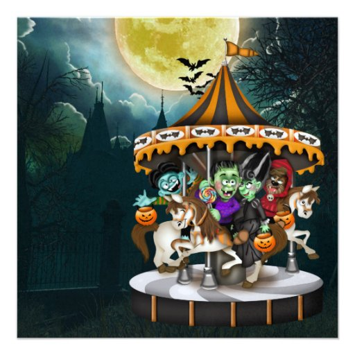 Halloween Party  - SRF Personalized Invitations