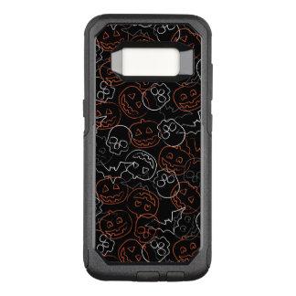 Halloween Pattern OtterBox Commuter Samsung Galaxy S8 Case