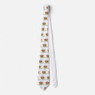 Halloween Penguin Bumble Bee Tie