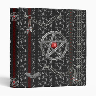 Halloween Pentacle  Avery Binder
