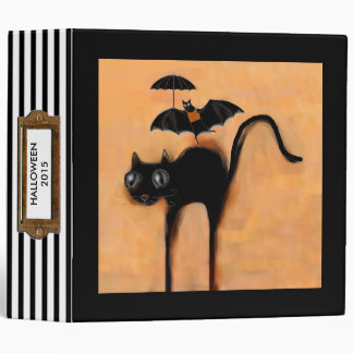 Halloween Photo Album Vinyl Binder