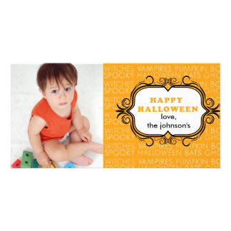 Halloween Picture Card