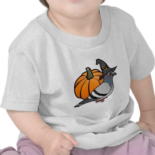 Halloween Pigeon T-shirt