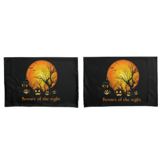 Halloween Pillow Case Set